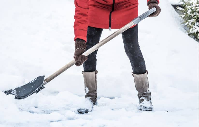 Shoveling-Slip and fall accidents on your property this winter